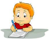 Kind Schreibt Spiegelverkehrt